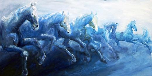 Blaue Herde