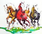 4 Pferde