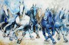 Schimmel in Blau